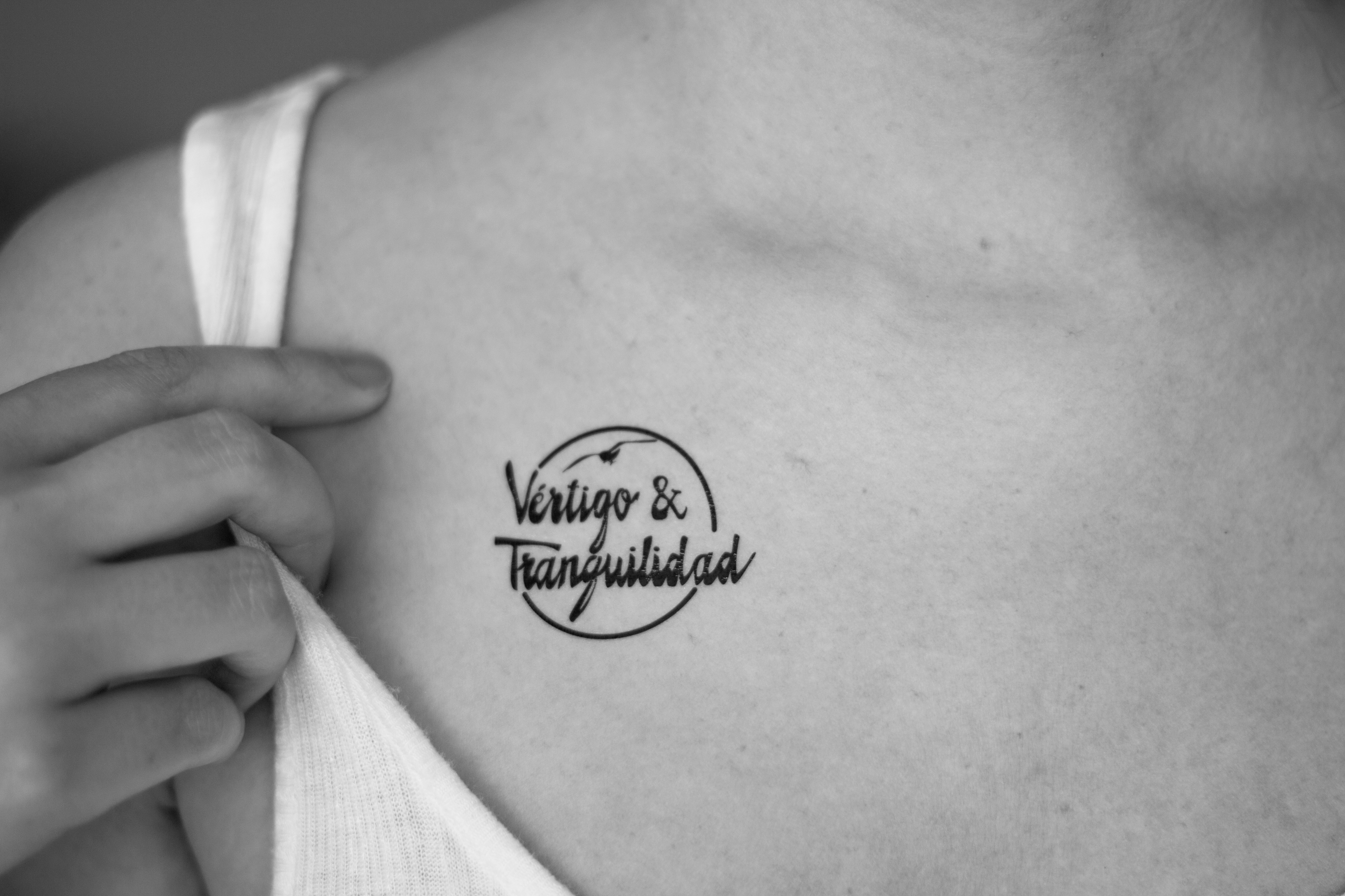 Tatuaje Vértigo y Tranquilidad
