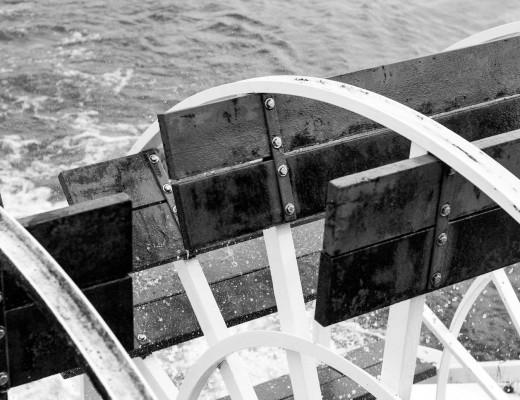 Barco en el Mississippi